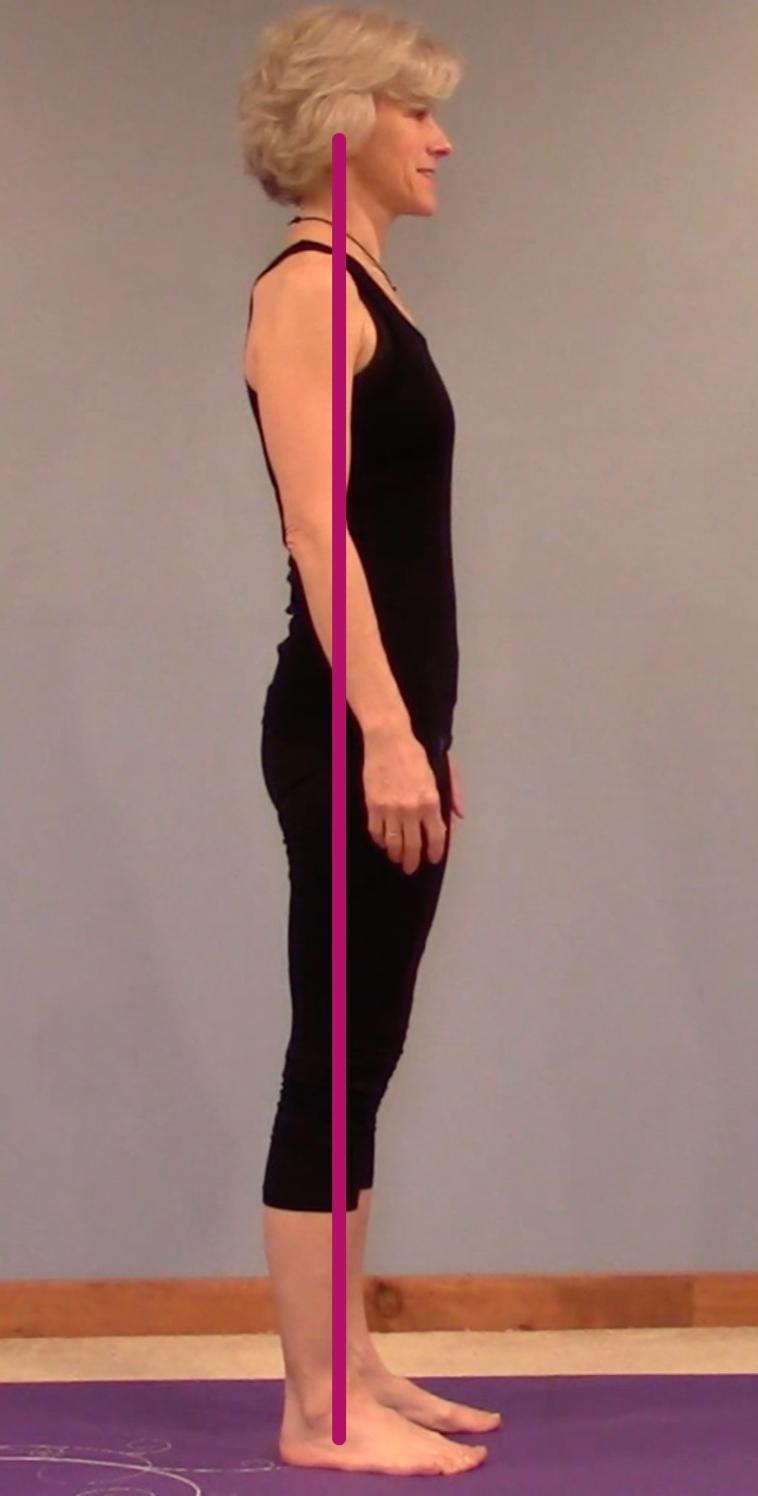 correct postural alignment